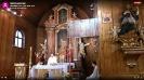 Msza  św. po wprowadzeniu obowiązku zakrywania nosa i ust. - 20.04.20